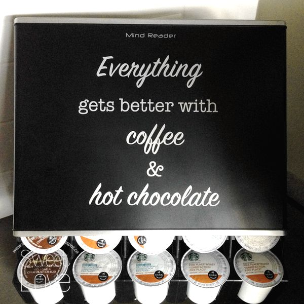 Sweet Love Canada: Silhouette Challenges - # 34 - Coffee & Hot Chocolate!
