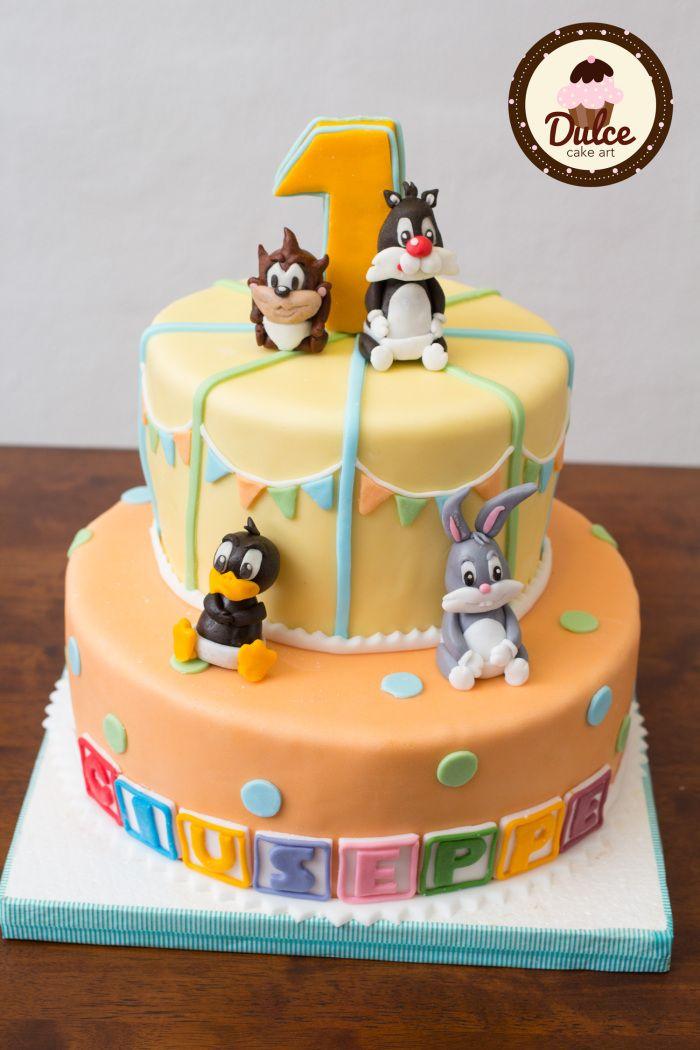 #Baby_Looney_Tunes #Birthday_Cake #Cake #Torta_compleanno