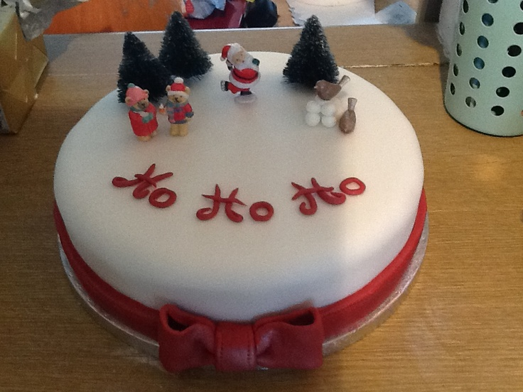 everyone loves Christmas cake don't they??