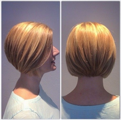 Classic Bob Hairstyle for Blond Hair