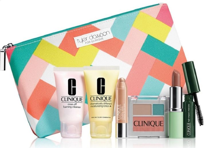 Bộ mỹ phẩm NEW Clinique Skin Care Makeup 7 Pc Gift Set Travel Size Nudes Spring 2015 Tyler Dawson  Giá mới:   VND 710,700   http://www.9am.vn/b-m-phm-new-clinique-skin-care-makeup-7-pc-gift-set-travel-size-nudes-spring-2015-tyler-dawson.html