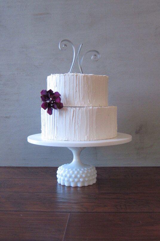 14 Inch Wedding Cake Stand / Wedding Cake Plate / by RouxBeeLu $137.00 & 18 best WEDDING CUPCAKES images on Pinterest | Cupcake wedding cakes ...