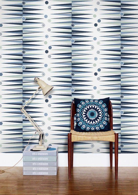 Backgammon Chalkhill Blue från Mini Moderns