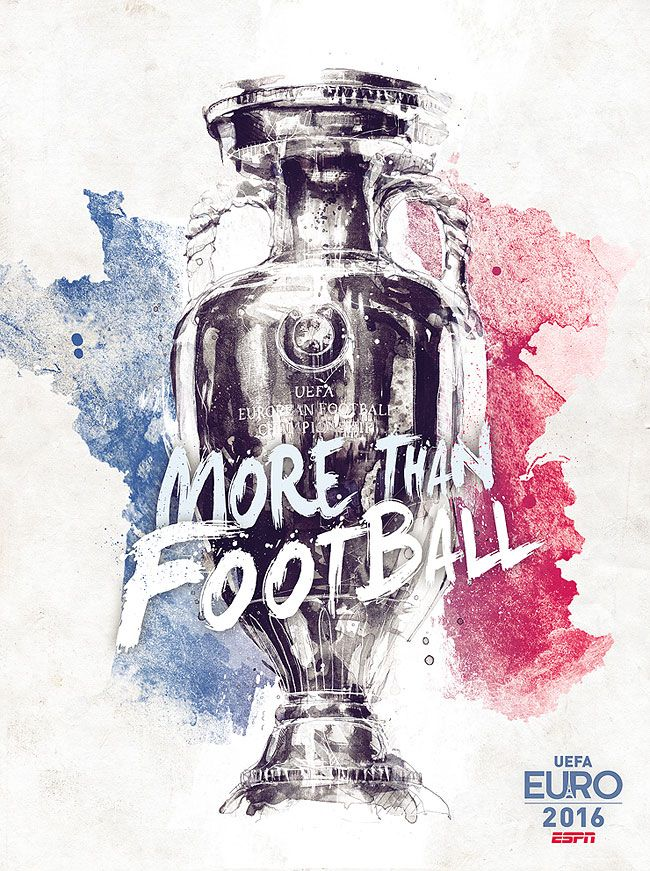 More Than Football: A Serie Of 25 Posters To Celebrate The UEFA Euro 2016 Tournament