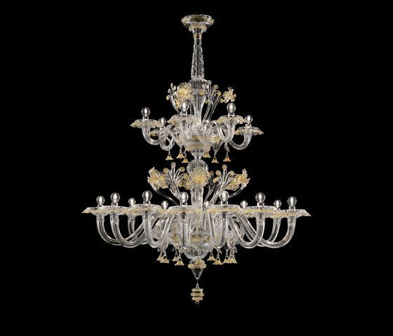 Meknes By Barovier Toso Ceiling Suspended Chandeliers