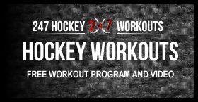 Free Hockey Workout Program and Training Routine - 247 Hockey Life