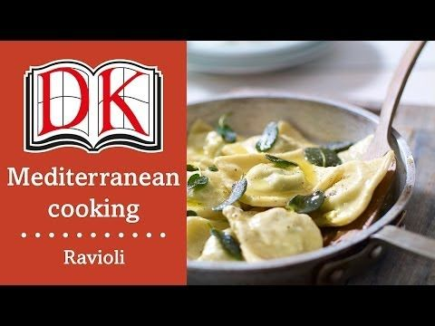 Learn how to make Ravioli alla Fiorentina. This ravioli recipe consists of little egg-pasta envelopes stuffed with fresh white ricotta and finely chopped spinach, finished with a simple sauce of melted butter and sage leaves.