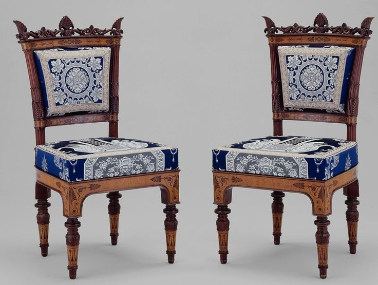 1835 Italian (Turin) Side chairs at the Art Institute of Chicago, Chicago