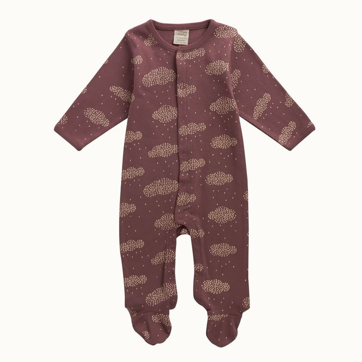 Nature Baby Rhubarb Cotton Stretch and Grow