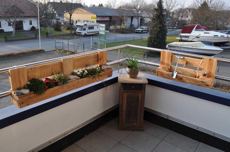 palettenm bel pflanzregal city garden im set von woody dekor rustikale palettenm bel und. Black Bedroom Furniture Sets. Home Design Ideas