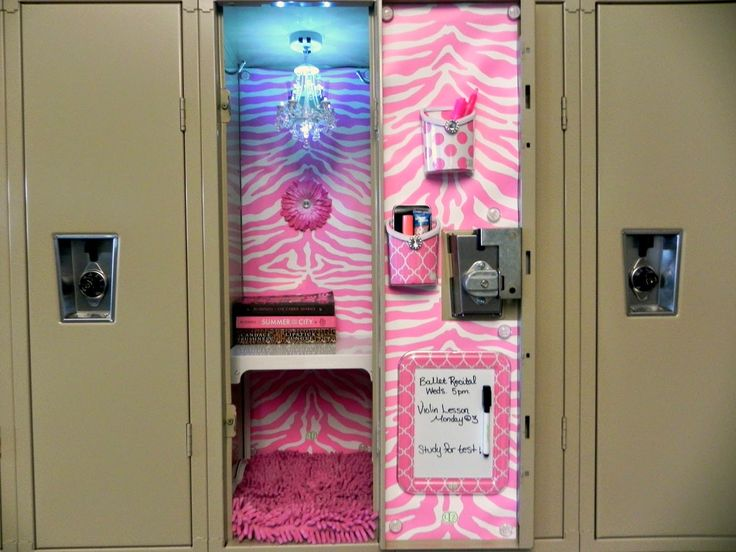 Girly locker decoration ideas | danasoki.top