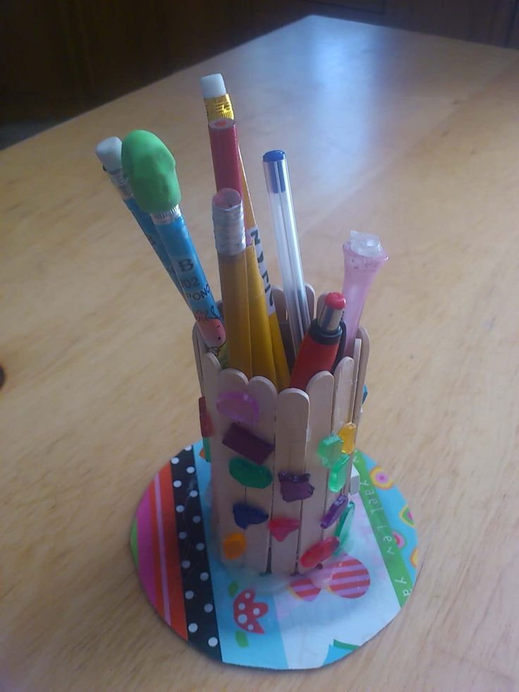108 best summer crafts images on pinterest kids crafts summer get your kids ready for school with this do it yourself pencil holder a great craft idea for this time of year solutioingenieria Choice Image