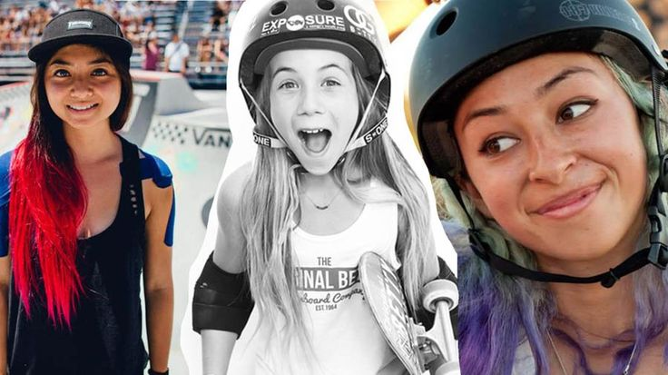 Meet the Badass Girls of the Summer X Games: Allysha Bergado, Lizzie Armanto, and Brighton Zeuner are three of the most talented skaters in the world, male OR female - and they're ready to shred at the X Games.