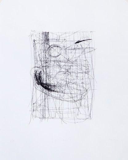 Radoslav Bigoš: Žít bytí; 40x50 cm, sítotisk