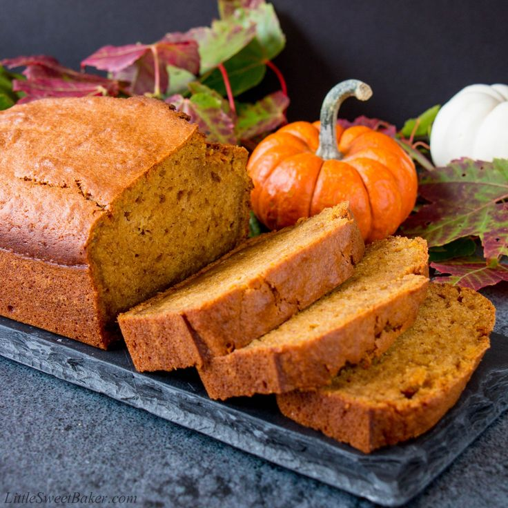 This incredibly soft and moist pumpkin bread is packed with pumpkin flavor and fragrant autumn spices.