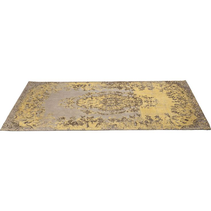 Carpet Kelim Pop Yellow 240x170cm