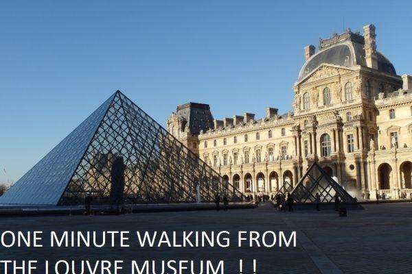 Parigi, Francia Casa Vacanza, 1 letto, 1 bagno, cucina con WIFI in 1 ère - Louvre. Migliaia di foto e opinioni dei clienti imparziali, Goditi Parigi da vero cittadino del mondo!