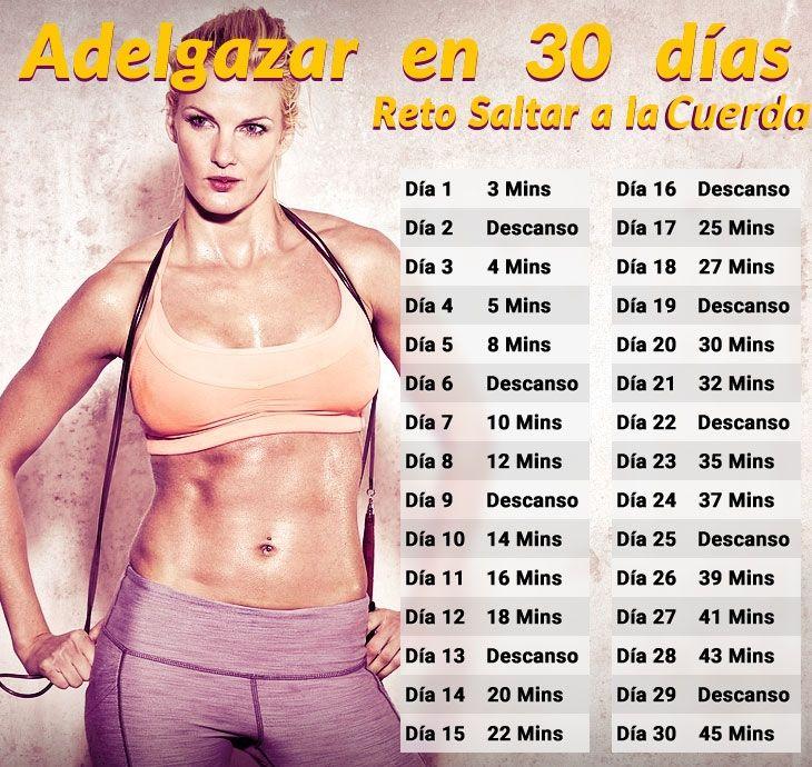 #Reto de saltar a la cuerda en 30 días ¿Te animas? #fitness
