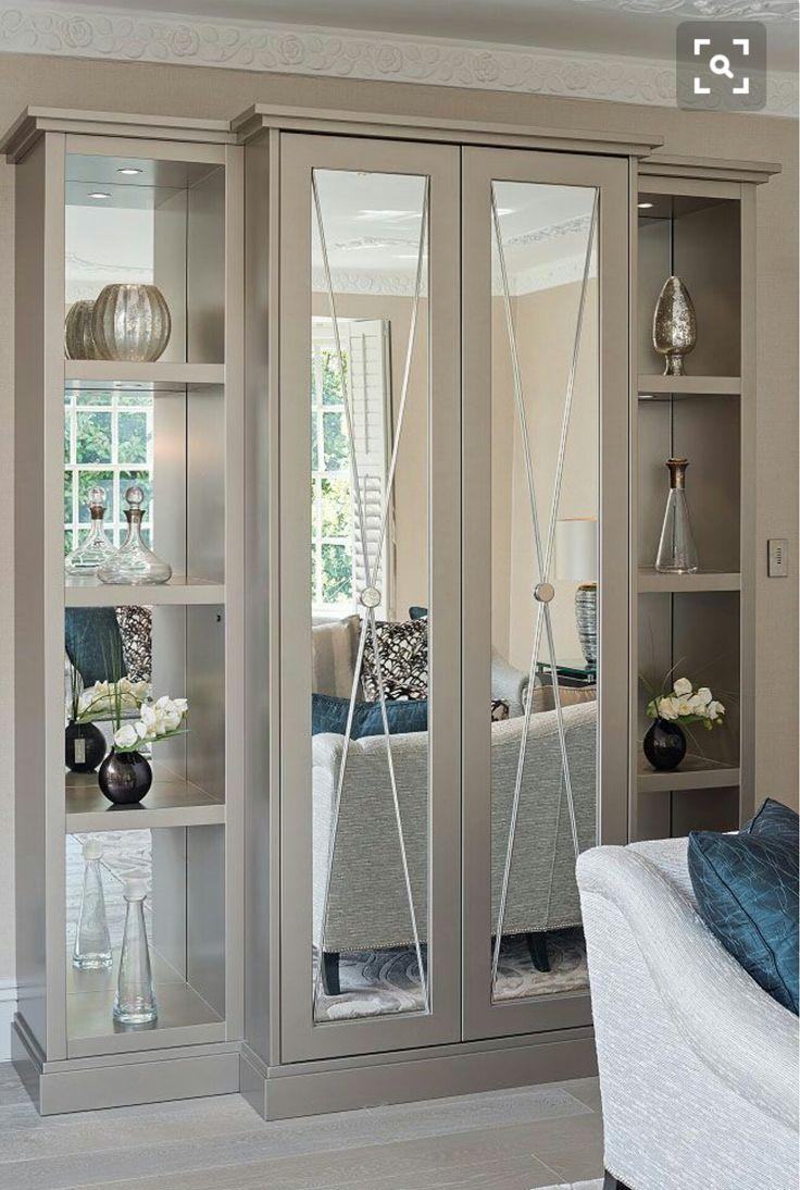 Wardrobe and bookcase