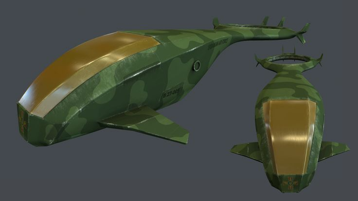 Model of helicopter by Vlad Berd