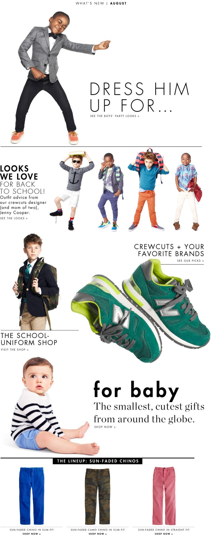 Boys Clothes for Back to School & Fall : Looks We Love | J.Crew.com