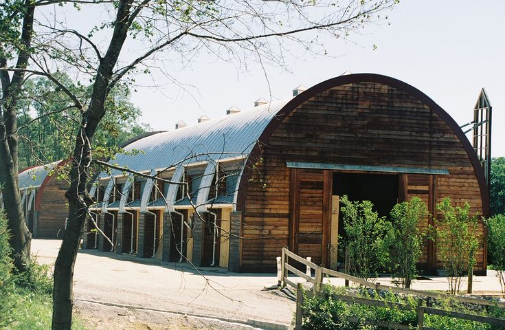 Modern Steel Stable Barn A Useful Idea For An Old British