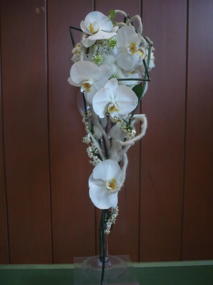 Phalaenopsis Wedding Bouquet made by Kent Florist Mikiko Inoue