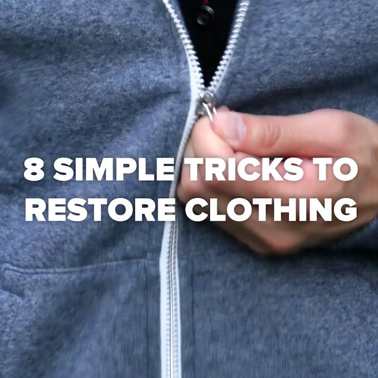 Zipper Lost Its Pull? Try This Trick! #hacks #simple #clean