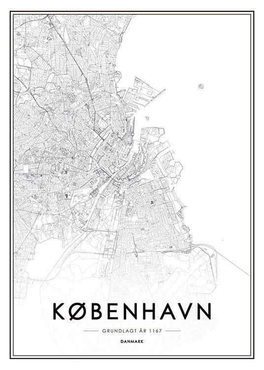 Köpenhamn, affiche