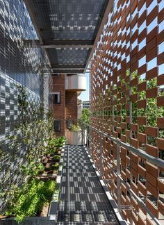 Muxarabi: fachada que respira. #muxarabi #fachada #arquitetura