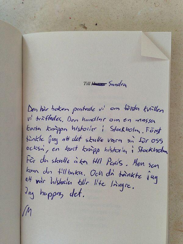 Skrivet av bloggaren Sandra Beijers pojkvän.  Asså. F I N A S T E jag sett.
