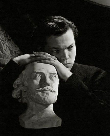 Sir Cecil Beaton, Orson Welles, Vanity, 1937  Certainly one can't blame a mad genius...Orson made art for arts sake!
