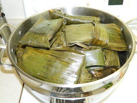 Tamales Mexicanos de Maseca ¡Sin manteca! Comida Saludable - Recetas para cena de Navidad - YouTube