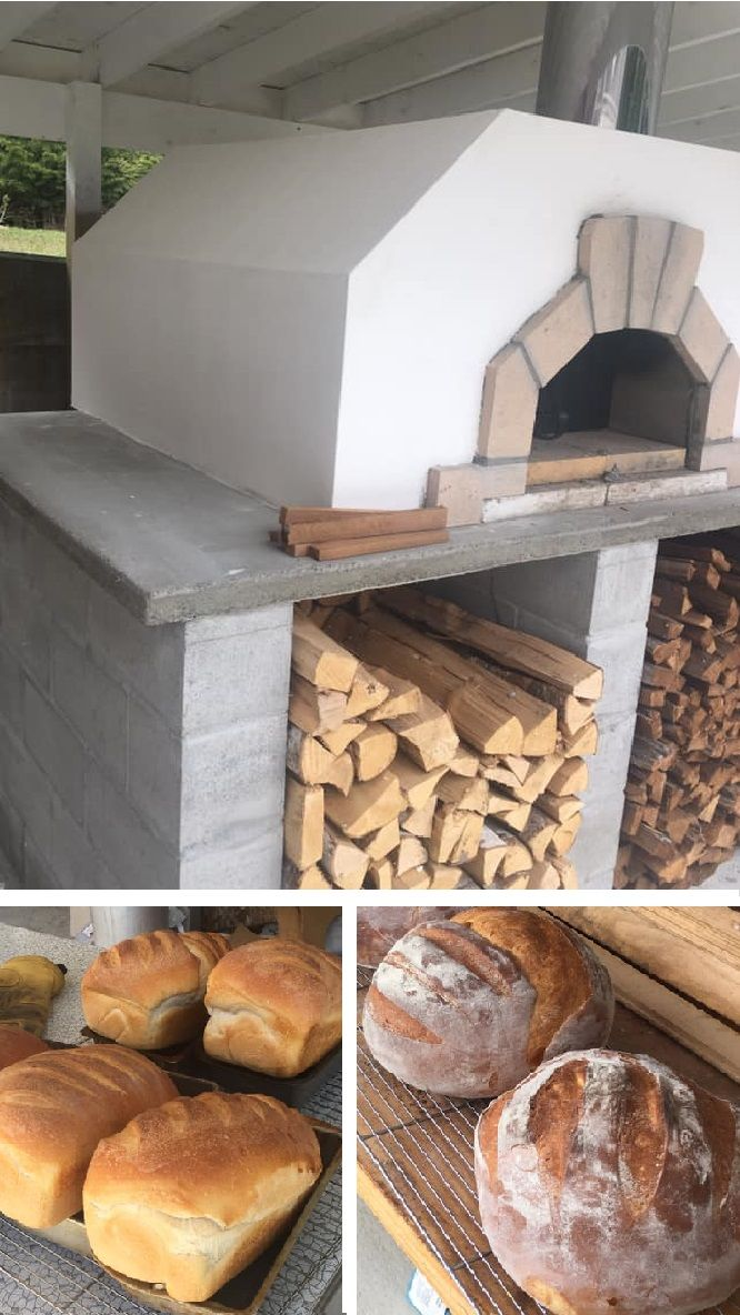 The Casa2g Bakes Beautiful Bread Wood Fired Oven Wood Fired Pizza Oven Pizza Oven Outdoor