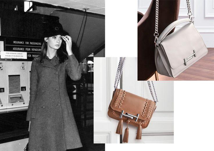 Мокасины Твигги и сумки Джин Шримптон в осенней коллекции Tod's | Мода | Новости | VOGUE
