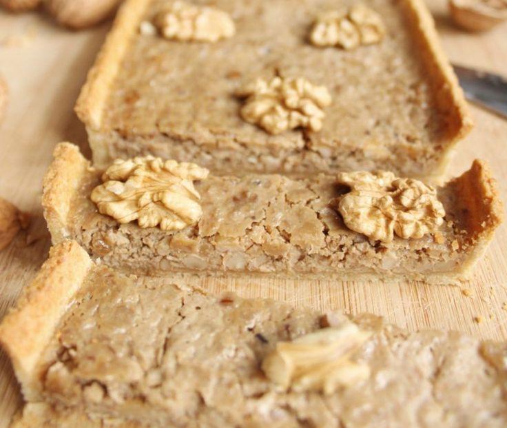 Recette de tarte aux noix pour la fête des pères - Imenager.com #fêtedespères #recette