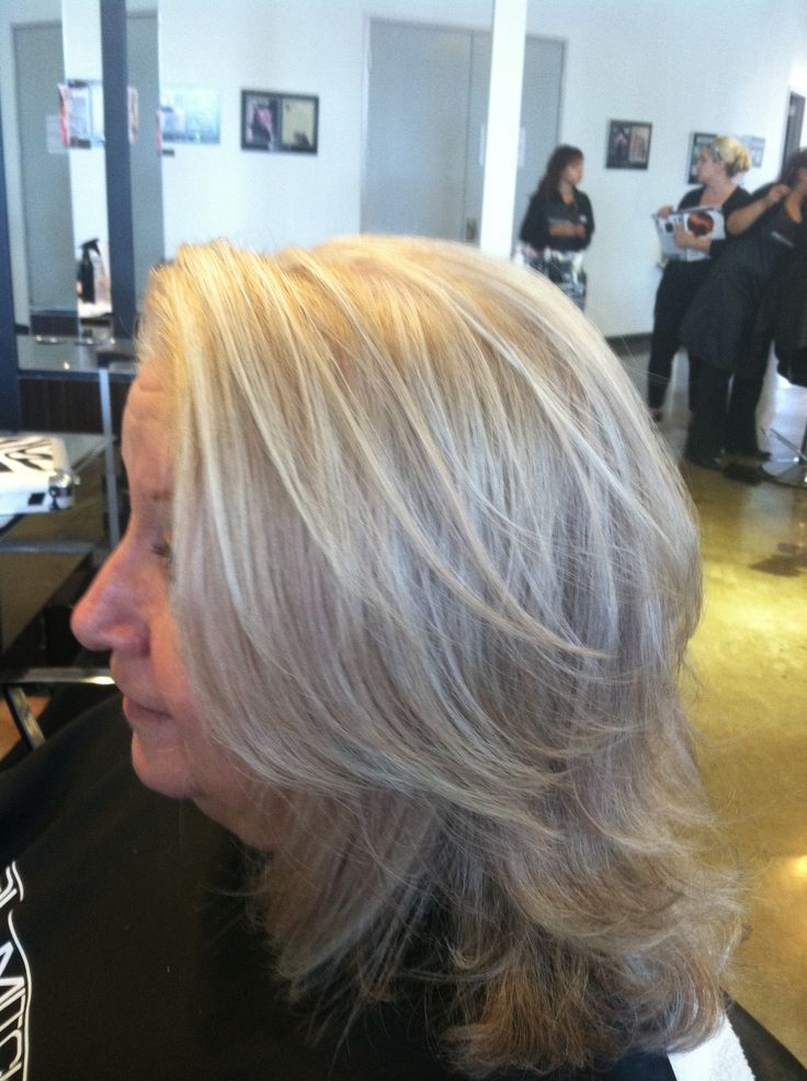 how to put highlights in gray hair natural highlights for