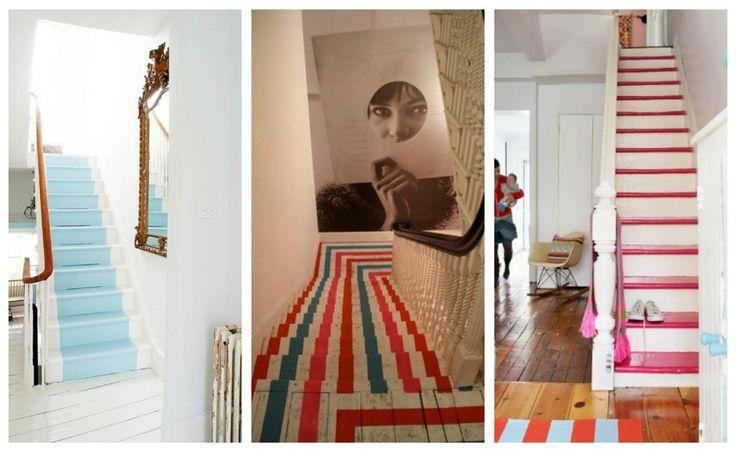 Det er undervurdert å male trappen! Det er en enkel måte å tilføre farger i et ellers nøytralt hjem. Gode produkter gjør at mulighetene er mange, og finishen blir god.