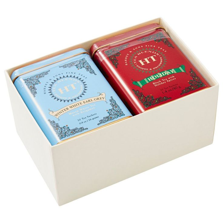 Harney & Sons Holiday Tea Gift Set: Winter White Earl Grey ...