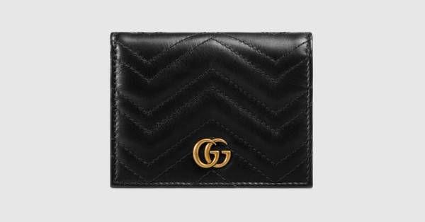 e593088c2ef3 GG Marmont card case - Gucci Women s Wallets   Small Accessories  466492DRW1T1000