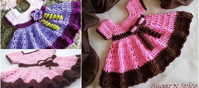 Crochet Sugar 'N Spice Dress