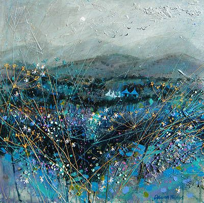 Blue September by Scottish Contemporary Artist Deborah PHILLIPS