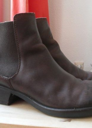 Kaufe meinen Artikel bei #Kleiderkreisel http://www.kleiderkreisel.de/damenschuhe/stiefeletten/137795086-fly-london-klass-chelsea-boots-make-dunkelbraun-neuwertig-fly-london-chelsea-boots