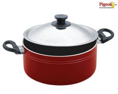Pigeon Aluminium Non-stick Biryani Pot (8.5 L) Buy Online Best Price
