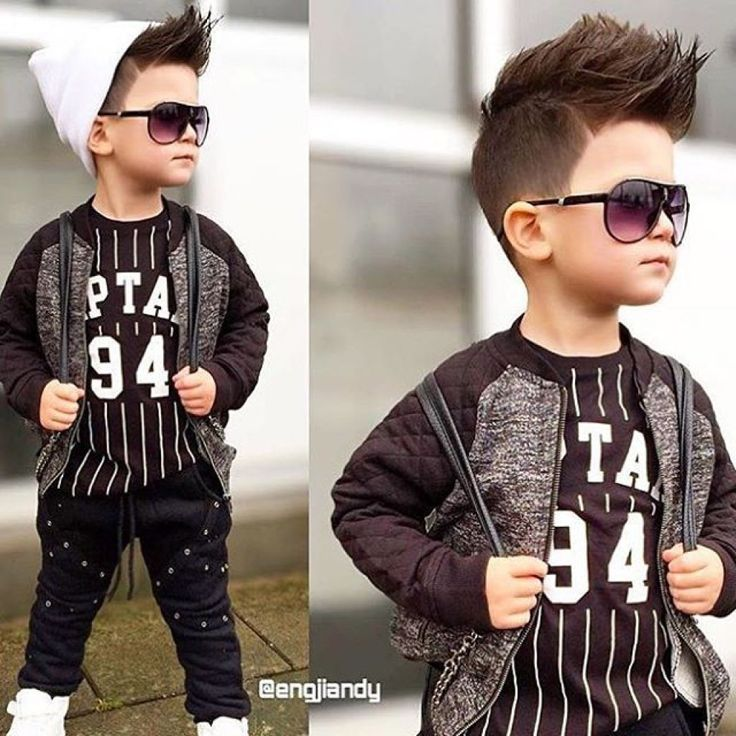 Japanese little boy hairstyle