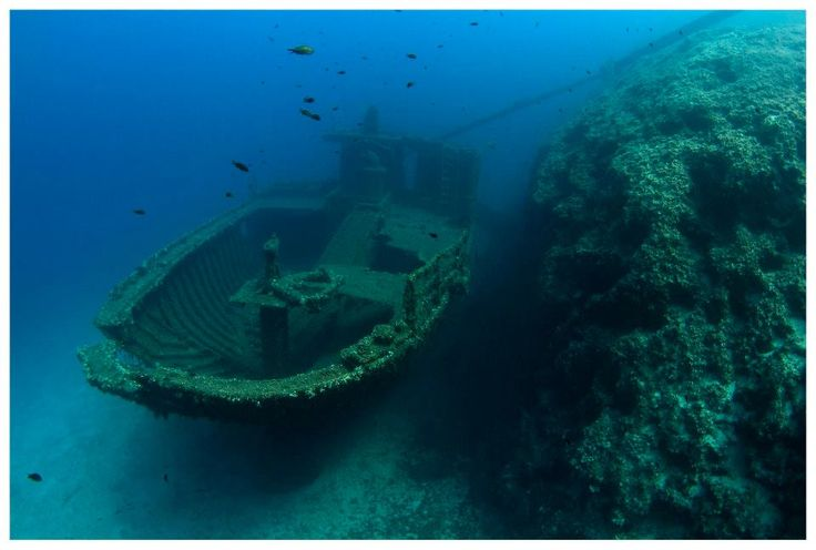 The kassandra shipwreck #diving #underwater #photography #greece #scuba #boatdive #athens #shipwreck