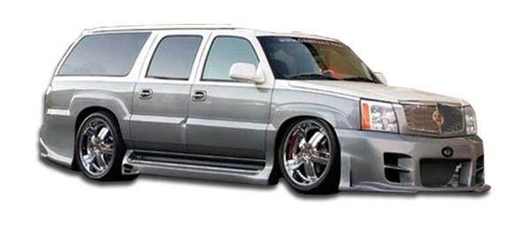 2002-2006 Cadillac Escalade Duraflex Platinum Side Skirts Rocker Panels - 2 Piece (Will not fit EXT ESV)
