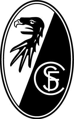 SC Freiburg (Sport-Club Freiburg e.V.) | Country: Germany / Deutschland. País: Alemania. | Founded/Fundado: 1904/05/30. Badge / Crest / Escudo.