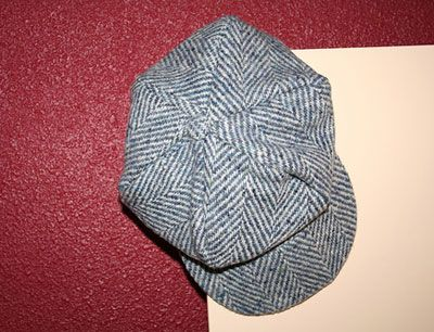 Newsboy cap , Free sewing pattern