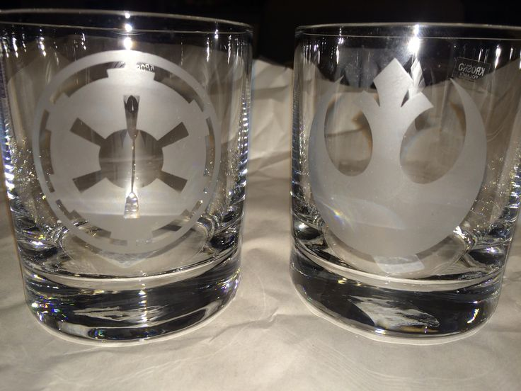 Here's how to etch your own 'Star Wars' drinking glasses